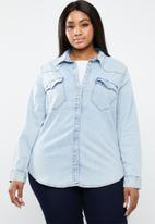 Levi's® - Western radio star shirt - blue