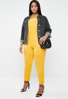 STYLE REPUBLIC PLUS - Easy fit jumpsuit - yellow