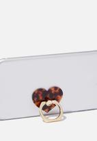 Typo - Phone rings - brown & gold