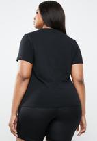 STYLE REPUBLIC PLUS - Criss-cross T-shirt - black