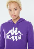 KAPPA - Authentic zimy hoodie - purple