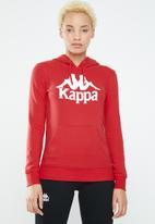 KAPPA - Slim fit hoodie - red