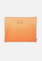 Typo - Printed document wallet - peach