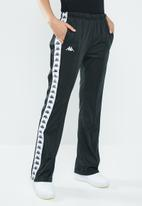 KAPPA - Banda snap pants - black & white