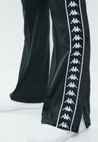 KAPPA - Banda snap pants - black & white