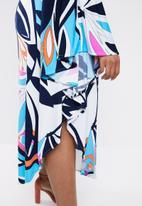 RUFF TUNG - Flora circle maxi dress - multi