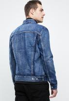 Levi's® - Inside out trucker jacket - blue