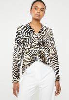Superbalist - Boxy shirt - Zebra