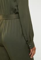 Superbalist - Revere collar jumpsuit - khaki