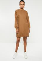 Superbalist - Sweat dress - brown