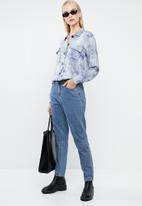 Superbalist - Boxy tie dye shirt - blue