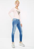 GUESS - Guess power low skinny jeans - blue