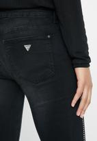 GUESS - Skinny Jean with bling - black