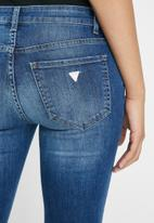 GUESS - Guess mid wash bootleg jeans - blue