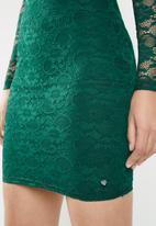 Sissy Boy - Straight away lace dress - green