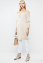 STYLE REPUBLIC - Slouchy knit jersey - neutral