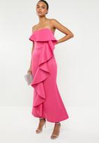 STYLE REPUBLIC - Ruffle detail maxi dress - pink