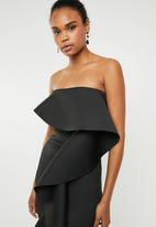 STYLE REPUBLIC - Ruffle detail maxi dress - black
