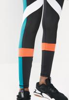 PUMA - Chase legging - black & blue