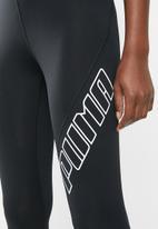 PUMA - Yogini logo 7/8 tight performance  - black
