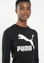 PUMA - Classics logo tight dress - black