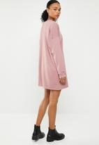 Missguided - Basic sweater dress - pink