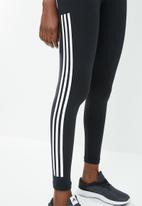 adidas - 3 stripes MH boss tights - black & white