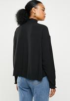 Superbalist - Pie crust shirt - black