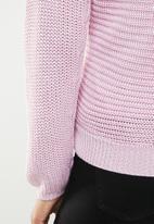 STYLE REPUBLIC - Chunky wrap jersey - purple