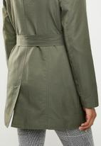 ONLY - Laura trench coat - green