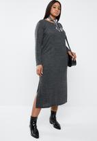 Superbalist - Longer length jersey dress - grey