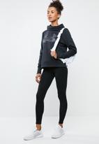 Under Armour - Fleece sportstyle logo hoodie - black