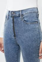 Levi's® - Moto ankle jeans - blue