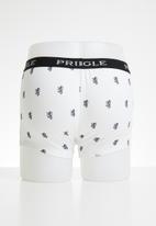 Pringle of Scotland - Leonardo boxers - white