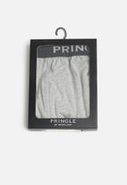 Pringle of Scotland - Simon knitted boxers - grey