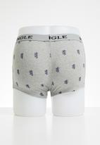 Pringle of Scotland - Leonardo boxers - grey
