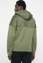 adidas Performance - Zne mesh hoodie - khaki & black