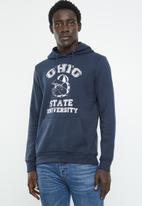 Brave Soul - Ohio hoodie - navy