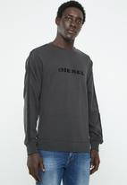 Diesel  - Willy taped sweater - grey