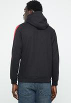 Brave Soul - Majestic striped hoodie - black