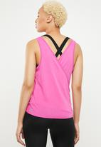 Cotton On - Wrap back tank top - pink