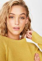 Cotton On - Archy pullover - yellow