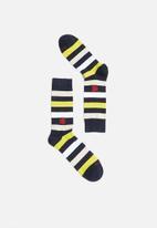 Pringle of Scotland - Sid stripe socks - multi