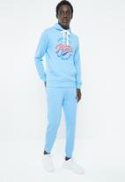 Jack & Jones - Summertime sweat hoodie - blue