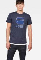 G-Star RAW - Cadulor  tee short sleeve - blue