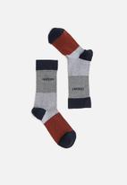 Pringle of Scotland - Tad pique socks - multi