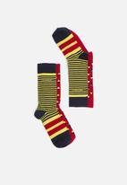Pringle of Scotland - Gregson 2 pack socks - multi