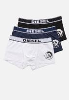 Diesel  - Umbx-shawn 3 pack boxer briefs - multi