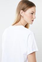 Levi's® - Graphic varsity tee - white