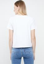 Levi's® - Graphic surf tee- white